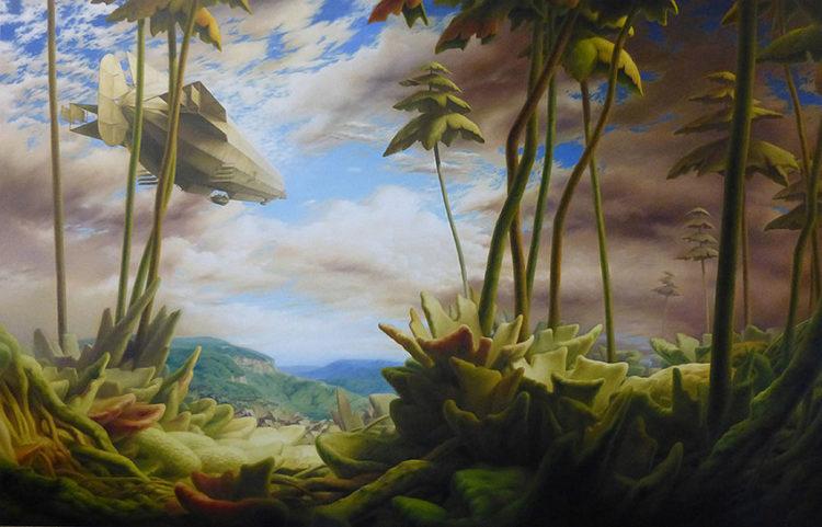 Galerie thomas punzmann contemporary zeigt michael-fieseler-figuartive-painting-riverhudson